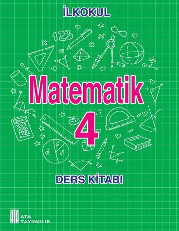 2018-2019 Yılı 4.Sınıf Matematik Ata Yayınları Ders Kitabı pdf