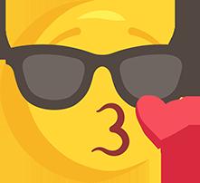 El Cizimi Gunes Gozluklu Opucuk Gonderen Png Emoji Resmi Meb Ders