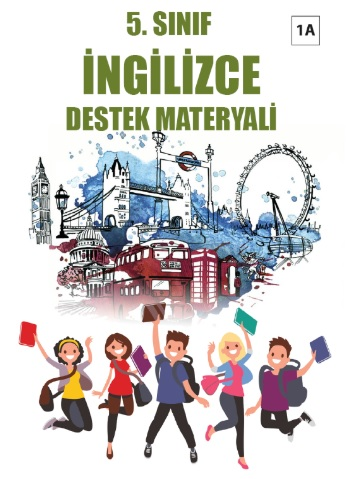2019-2020 Yılı 5.Sınıf İngilizce Destek Materyali - 1A pdf indir