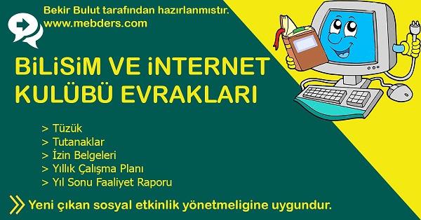 Bilişim ve İnternet Kulübü Evrakları