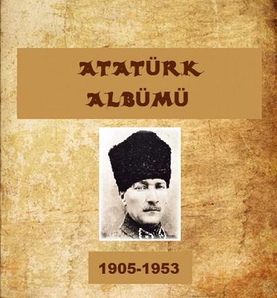 Atatürk resimlerinden oluşan sesli Atatürk albümü slaytı
