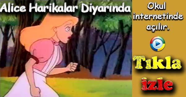Alice Harikalar Diyarında çizgi film izle - Bölüm 3