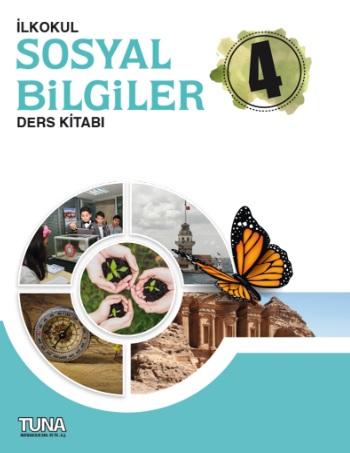 2019-2020 Yılı 4.Sınıf Sosyal Bilgiler Ders Kitabı (Tuna) pdf indir