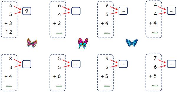 1.Sınıf Matematik Toplama İşlemi Etkinliği 3