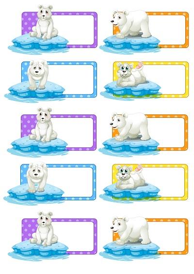 Kutup ayılı yaka kartı