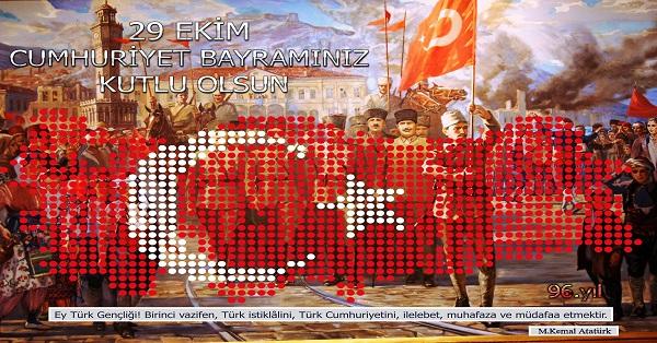 Cumhuriyet Panosu Posteri - 50x70
