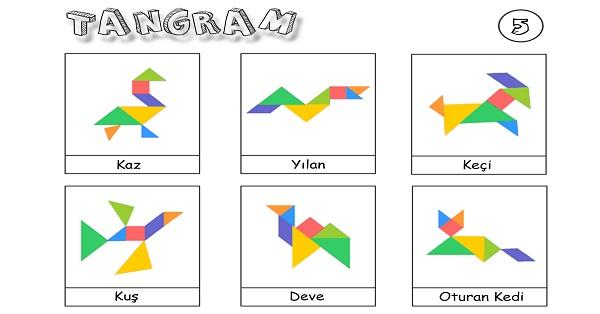 Tangram etkinliği 5