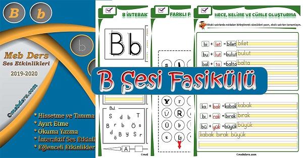 1.Sınıf İlkokuma B Sesi Fasikülü