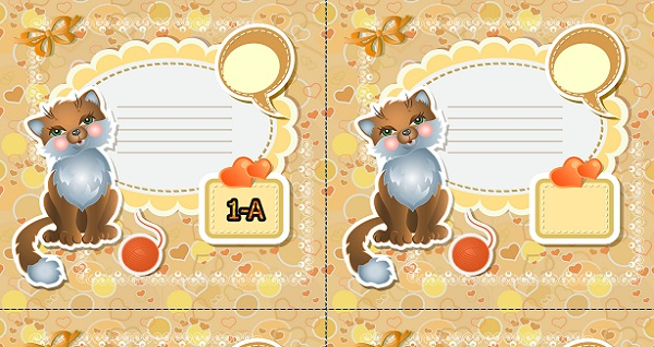 Kedili yaka kartı