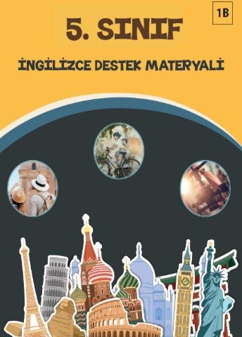 2019-2020 Yılı 5.Sınıf İngilizce Destek Materyali - 1B pdf indir