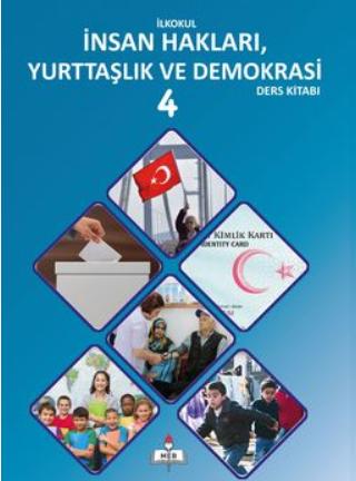 2018-2019 Yılı 4.Sınıf İnsan Hakları ve Demokrasi Ders Kitabı pdf