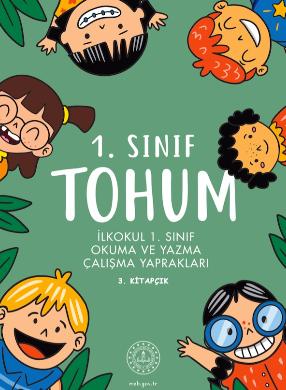 1.Sınıf Tohum Okuma ve Yazma Çalışma Yaprakları 3 pdf indir