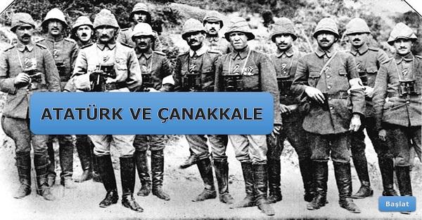 Atatürk ve Çanakkale sesli slayt