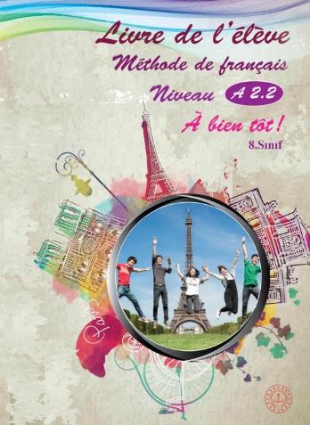 2019-2020 Yılı 8.Sınıf Fransızca Ders Kitabı (MEB) pdf indir