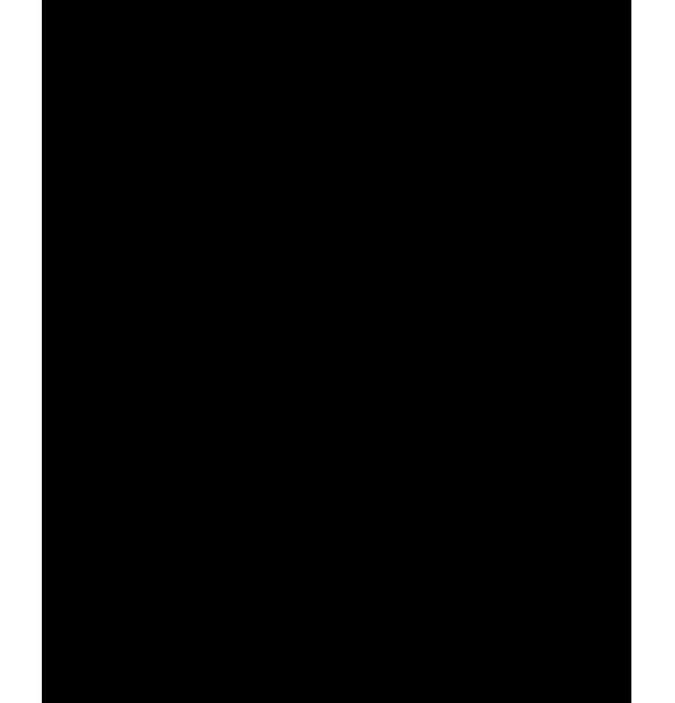 Köşeleri desenli png çerçeve resmi