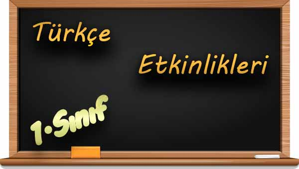 1 Sınıf Türkçe Zıt Anlamlı Kelimeler Etkinliği 1 Meb Ders