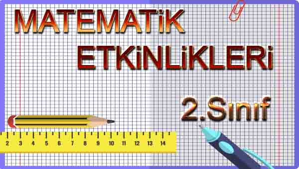 2.Sınıf Matematik 5.Ünite Değerlendirme Etkinliği