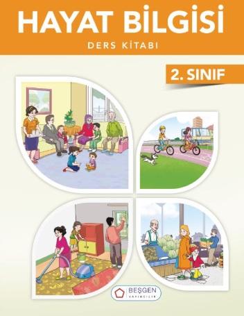 2019-2020 Yılı 2.Sınıf Hayat Bilgisi Ders Kitabı (Beşgen) pdf indir