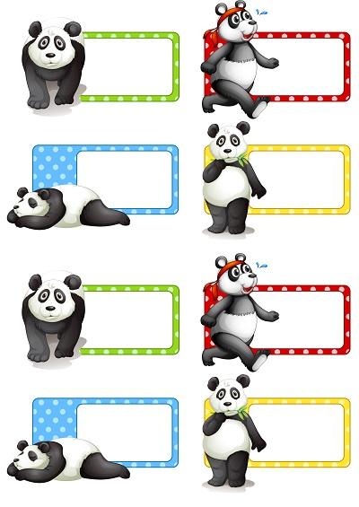 Pandalı yaka kartı