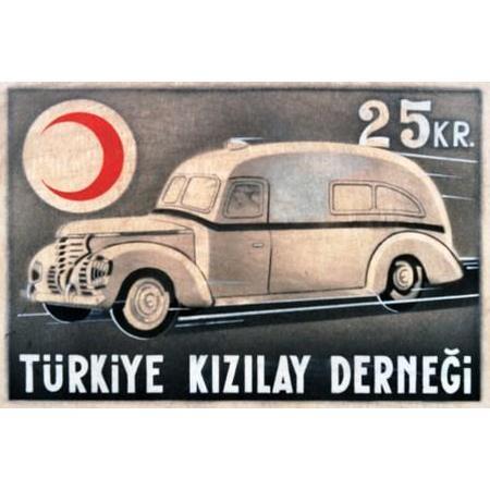 Tarihi kızılay pulları