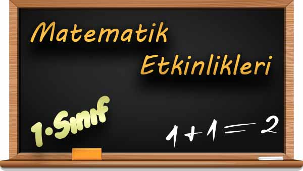 1.Sınıf Matematik  Doğal Sayıları Sayalım Etkinliği 1