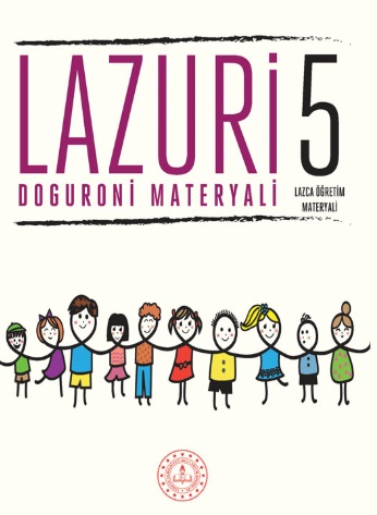 5.Sınıf Lazuri Lazca Öğretim Materyali Ders Kitabı pdf indir