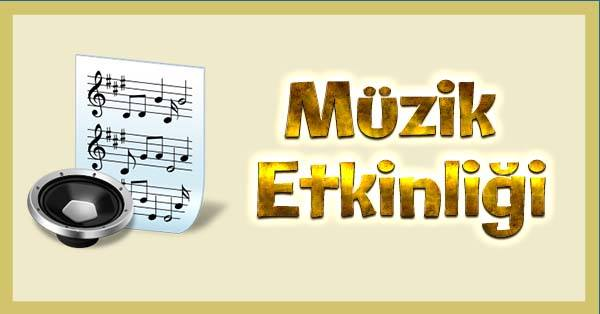 Müzik Orman Şarkısı ve Notaları Etkinliği