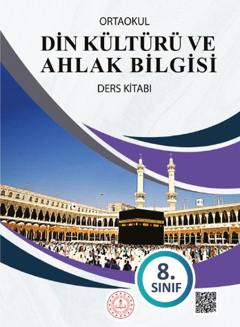 2019-2020 Yılı 8.Sınıf Din Kültürü ve Ahlak Bilgisi Ders Kitabı (MEB) pdf indir