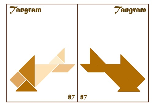 Tangram Kartları 44
