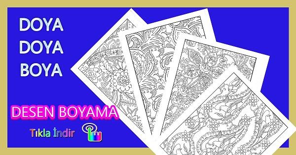 Desen Boyama Paketi