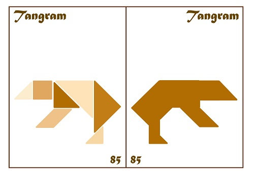 Tangram Kartları 43