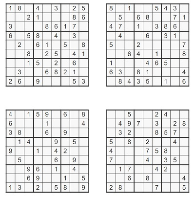 Orta Seviye Sudoku 9