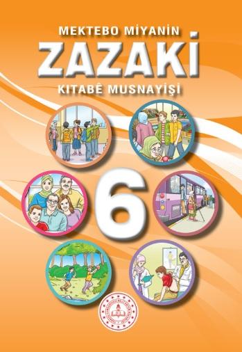 6.Sınıf Zazaki Ders Kitabı pdf indir