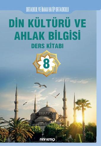 2019-2020 Yılı 8.Sınıf Din Kültürü ve Ahlak Bilgisi Ders Kitabı (Nev Kitap) pdf indir