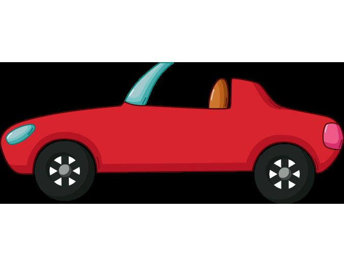 Kirmizi Ustu Acik Otomobil Resmi Png Meb Ders
