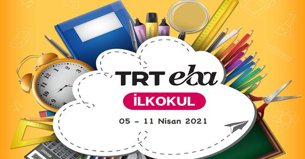 5 - 11 Nisan Arası EBA TV İlkokul Yayın Akışı, Dersler, Konular