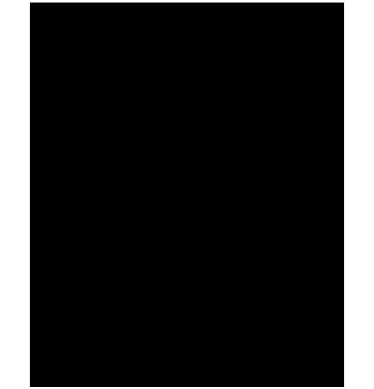 Kenarları kıvrımlı png çerçeve resmi