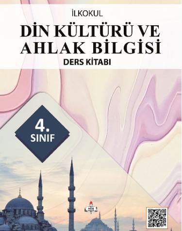 2018-2019 Yılı 4.Sınıf Din Kültürü ve Ahlak Bilgisi MEB Yayınları Ders Kitabı pdf