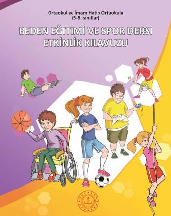 2019-2020 Yılı 5.Sınıf Beden Eğitimi ve Spor Etkinlik Kılavuz Kitabı pdf indir