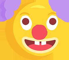 El Cizimi Palyaco Png Emoji Resmi Meb Ders