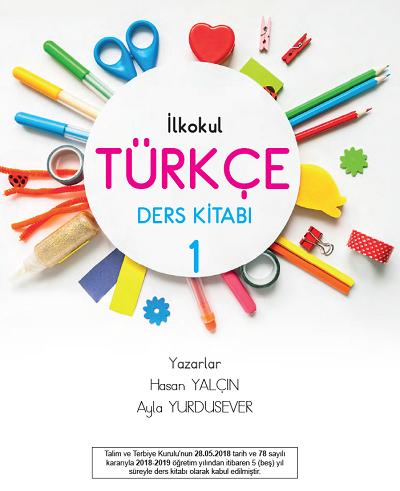 2018-2019 Yılı 1.Sınıf Türkçe Semih Yayıncılık Ders Kitabı pdf