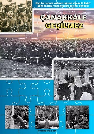 Çanakkale Geçilmez Puzzle (35 parça)
