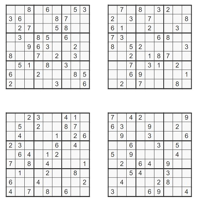 Zor Seviye Sudoku 5