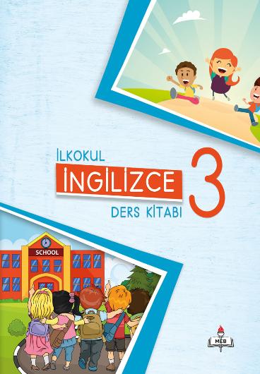 2018-2019 Yılı 3.Sınıf İngilizce MEB Yayınları Ders Kitabı pdf