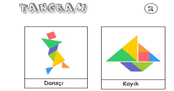Tangram etkinliği 2