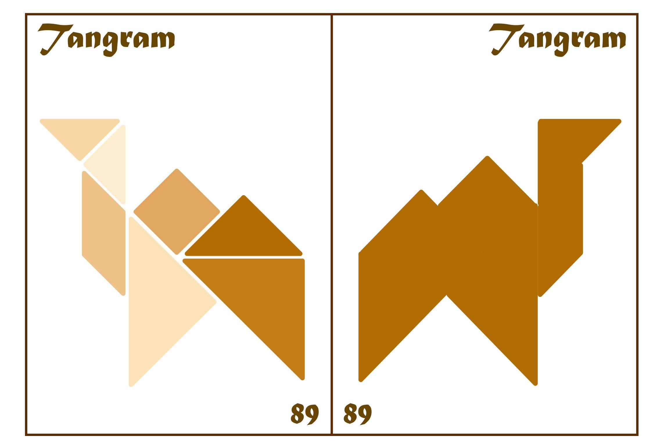 Tangram Kartları 45