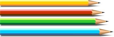 Üst üste dizilmiş kurşun kalemler resmi png
