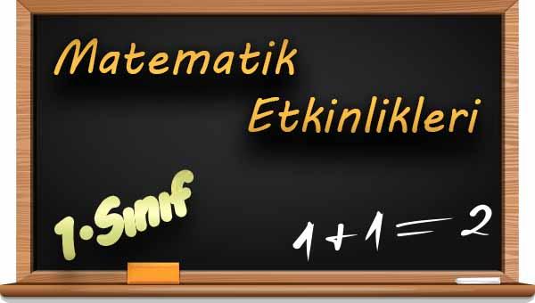 1.Sınıf Matematik 1 Rakamı Etkinliği