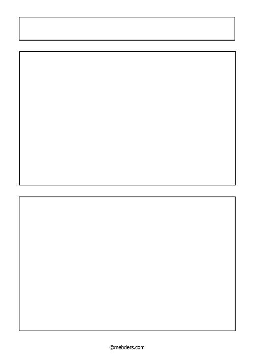 iki çerçeveli resim ve yazı şablonu