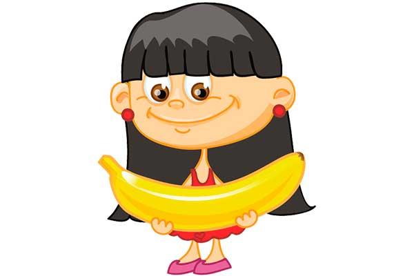 Clipart muzlu kız çocuğu resmi